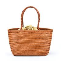 l'épaule des femmes de sac à main de roses sacs fourre-tout de la mode sac panier tissé sac en cuir plat panier sac vente sac à bandoulière chaud