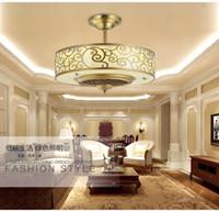 Лампа потолочный вентилятор LED свет Анион 65см Двигатель преобразования частоты Традиционные потолочные вентиляторы свет диммер Пульт дистанционного управления 85-265В