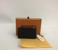 فرنسا نمط عملة الحقيبة الرجال النساء سيدة الجلود عملة محفظة مفتاح محفظة مصغرة المحفظة الرقم التسلسلي مربع حقيبة الغبار