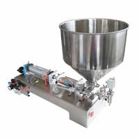 100-1000ml semi-automatique Bouteille Machine de remplissage liquide pour le miel / Crème / cosmétique / Sauce / DENTIFRICE 4-60 bouteilles par minute
