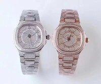 TW Super Diamond versione platinum 5719 / 2G montre de luxe movimento 324c orologi 50m impermeabile diamante spessore 10 millimetri orologio