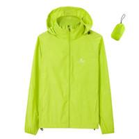 2020 Esecuzione Giacca impermeabile per le donne Giacche Plus Size Sportswear Uomini Run cappotto della chiusura lampo vestiti di allenamento Giacca Primavera Sport