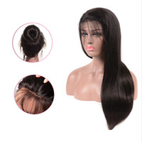 Prosta koronka przednie ludzkie włosy peruki dla kobiet 150% Brazylijski Remy Hair 4 * 4 Koronkowa peruka Perruque Cheveux Humain Bresiliens