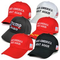 17 colori Trump Hat 2020 Make America Great Again Ricamo Donald Trump Berretti da baseball Cappelli Berretti da baseball Adulti Cappello sportivo
