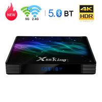 جودة عالية X88 King Android 9.0 TV Box Amlogic S922X HEXA-CORE المدمج في 4GB / 128GB 2.4G / 5.8GWIFIBT SMART SET TOP Box HGS