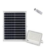 원격 제어 사용하기 위해 파크 플라자 정원 60W 100W 150W 야외 조명 IP66 방수 태양 홍수 빛