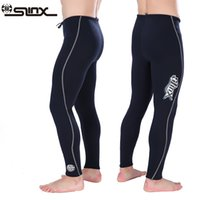 3mm Neoprene Diving pants Unisex Snorkeling Surfing trousers Winter thermal Swimming pants men women High Waist Diving
