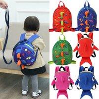 Симпатичные Anti-потерянный Динозавр Дети Детские ремни безопасности Рюкзак Поводок малышей сумка очень прочный крепкий удобный Schoolbag