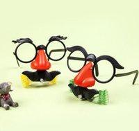 Süper engraçado Düdük do Dragão óculos Complicado Brinquedos Novidade Engraçada Do Palhaço Para Nariz Grande Sopro maske