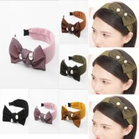 Women Girl Floral Print Kids Bow Headband Hair Band Bowknot ...