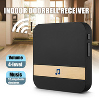 WiFi sans fil Smart Video Soorbell 433mHz Chime Music Receiver Home Sécurité Indoor Interphone Porte Bell Receiver 10-110DB Sons Sounds