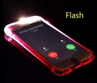 For iphone X 8 7 6Flash Up Light Remind Lncoming LED Crashpr...