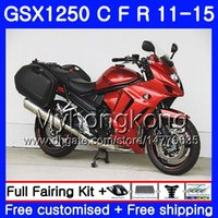 Body For SUZUKI Light orange Bandit GSX1250F GSX1250FA GSX1250 C 11 12 13 14 15 310HM.11 GSXF1250 GSX1250C 2011 2012 2013 2014 2015 Fairing
