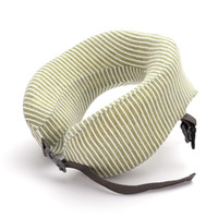 U- shaped pillow can receive memory foam neck travel pillow a...
