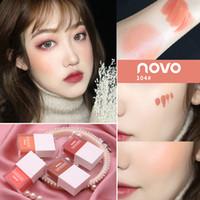 INS CALIENTE! Liquid Maquillaje Blush 4 Color Hidratante Hidratante sedoso jugo Lasting Serie Blush faciales cosméticos libres del envío I0301