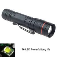 Lampes de poche Torches Ultraviolet Light Portable Mini Q5 14500 Batterie Imperméable Money Détecteur Anti-Contrefeting UV Torche Flash Work