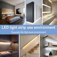 Waterproof Flexible Lamped Sensor Motion Sensor 5M USB Tira LED Stripe Light Cucina Armadio Armadio Casale Night Light Lampada a LED Striscia MS012