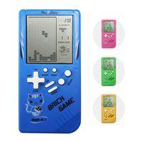 Klasik Tetris Oyun Konsolu Nostaljik Büyük Ekran Oyunu Oynatıcılar Retro Taşınabilir Tetris El Çocuk Oyun Denetleyicisi Tuğla Oyunu
