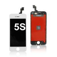 iPhone 5S Yedek Parçaları Onarımı LCD Siyah Beyaz LCD Ekran Dokunmatik Ekran Sayısallaştırıcı Tam Meclisi
