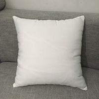 Fodera per cuscino in tela morbida di poliestere al 100% per fodere per cuscino lombare in puro bianco di sublimazione per fodere per cuscino in poliestere