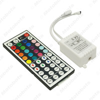 Voiture DC12V 6A 44-clé LED IR Controler LED à distance Dimmer Pour Controler RGB LED IR 3528 5050 Strip # 5652