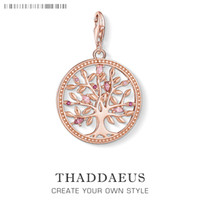Tree of Love Pink Charms Pendant Thomas Jewelry Findings Acc...