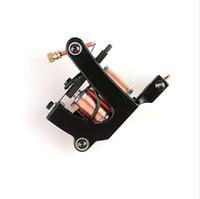 Hohe Qualität neue handgemachte Damaststahl-Tätowierung-Maschine 10 Spulen wickeln Tätowierungs-Gewehr-Shader-Zwischenlage freies Verschiffen