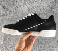 2019 Adidas shoes men women Neue Continental 80 og Rindsleder Board Schuhe Originals Continental 80er Jahre Gauner Männer Dämpfung Casual Sneakers