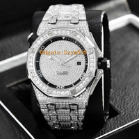 Diver Full Diamond Sweep Move High Quality Man Automatic Mov...