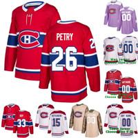26 Jeff Petry, Montreal Canadiens, Max Domi, Patrick, Roy, Shea, Weber, Carey, Preço, Tomas, Tatar, Chris Chelios, Gallagher, Jesperi, Kotkaniemi, Jersey