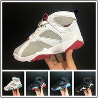 9374fc2612c3f9 Nova Chegada. Crianças Sneakers hot Quality Kids 7 VII Sapatos de Basquete  Meninos Meninas Crianças Atlético tênis ...