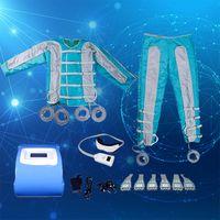 Alta qualità 24 airbag pressoterapia macchina portatile onda pressione d'aria dimagrante linfodrenaggio massaggio Detox uso domestico dimagrante attrezzature