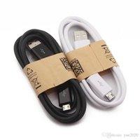 1M 3ft Micro-USB-Kabel Hochwertiges Ladekabel 100CM USB-Datensynchronisierungs-Ladekabel für Samsung-Galaxie S3 S4 S5 S6HTC Android