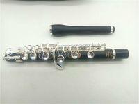 Box ile piccolo Kompozit Ahşap C Ayarlama Gümüş Kaplama anahtar Piccolo Profesyonel Piccolo Müzik Aleti