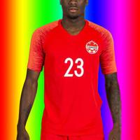 2020 Kanada ev futbol forması Futbol forması 2020 Kanada milli takım futbol forması Dignans ev yetişkin futbol formaları shirt T-shirt