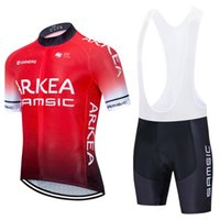 TEAM cylcing wear ARKEA RED jersey 20D bike pants suit men s...