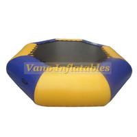 Jogos 5m Água trampolim Grande inflável Jumping Bouncer para Crianças Brinquedos água da bomba gratuito frete grátis