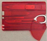 Напольный располагаясь лагерем нож карточки Швейцарии инструментов красотки с ножом карточки Multifuntion света Сид