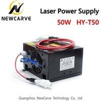 توريد 50W CO2 ليزر قوة ل30W 40W الليزر أنبوب HY-T50 Newcarve