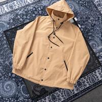 Khaki Black Designer Mantel Frauen Marke Reißverschluss Windjacke Designer Outdoor Jacket Sweatshirt Mens Luxurys Mäntel Hoodies Streetwear 20121701t