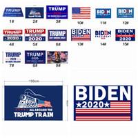 15 Estilos Donald Trump Banderas 2020 American President Mantenga Gran Fiesta Latina indicador de la bandera 90 * 150cm Joe Biden Elección Bandera ZZA2315 200Pcs
