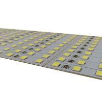 Commercio all'ingrosso della fabbrica 1M DC 12V Doppia riga a doppia riga 144LEDS SMD 5630 5730 LED Hard rigido LED Strip Strip Barre a cena Light Bright