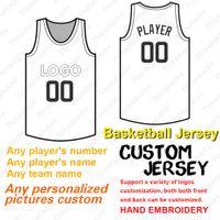 2019 Özel Basketbol Forması Anynumber AnyName Flex Baz Serin Baz Dikişli Boyut S-4XL Kırmızı Beyaz Gri Donanma Siyah
