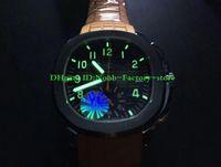 Super YLF Neue Version Luxusuhr für Männer Top Qualität 42,2 mm 5968A Leuchtende Chronograph Orange Gummi Mechanische Automatische Armbanduhren
