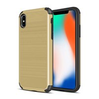Military impact hybrid 2 in 1 Case For Apple iPhone XS Max X...