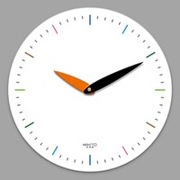 Creative Wall Clock Modern Design Nordic White Decorative Gu...