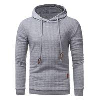 Hoodies Männer 2017 Marke Männer Langarm Solid Color T-Shirt Männer Hoodie Anzug Sweat Mantel-beiläufige Sportkleidung M-3XL