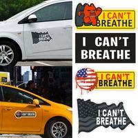 Je ne peux pas respirer autocollant de voiture automatique de la fenêtre de porte Skateboard bagage Autocollants 2020 Hot Décor voiture HHA1351