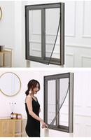 蚊帳窓のメッシュスクリーンスティッキーナイロンテープネットホワイトグレー灰色DIYシンプルなインスタレーション、汚れ防止ウィンドウ画面