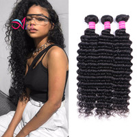 Ais Hair Brazilian Virgin Human Hair Deep Wave 3 Bundles Nat...